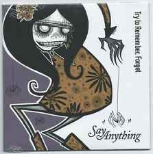 "Say Anything/Eisley ""split"" 7"" Saves The Day Taking Back Sunday Get Up Kids"