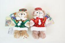 Tokyo Disney SEA Duffy Plush Badge Christmas 2012 Duffy & ShellieMay Tag