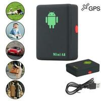 Mini A8 GPS Tracker Locator Car Kid Global Tracking Device Anti-theft Y7B0