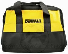 "NEW DeWALT Heavy Duty Canvas Contractor Tool Bag Case 13"" X 10"" X 9"""