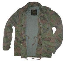Alpha Industries Jacke Winterjacke M65 VF 59 Woodland Camo Feldjacke Gr. L [J3]