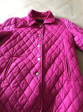 Coach Quilted Fushia Pink Jacket M