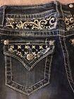 "Miss Me womens jeans JP7054B ""French Vanilla"" Boot cut"