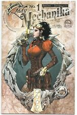 Lady Mechanika 1 Aspen 2010 NM+ 9.6 1st Print Joe Benitez