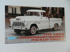 Franklin Mint 1955 CHEVROLET CAMEO Pickup Truck Brochure Pamphlet Mail