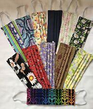 Handmade Adult Cloth Face Masks - Betty Boop,  Daisy, Rainbow Peace, Patriotic