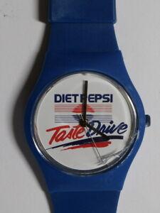 Vintage DIET PEPSI Quartz Watch. Damage to face