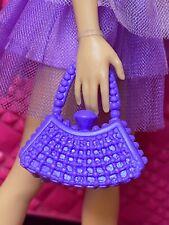 "2 Barbie Fashion Accessories Handbag Purse for 11-12"" Doll"