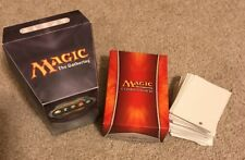 Magic The Gathering 2013 Commander Deck Power Hungry w/ deck box, sleeves, extra