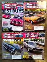 (Lot of 4) 2007 Mustang Monthly Magazine Shelby Cobra Boss FREE SHIPPING
