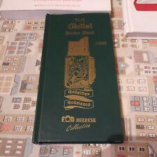 TLR Rolley Pochet Book di A.Derqui  il Vangelo del Collezionista Rolleiflex .