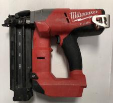 Milwaukee 2740-20 M18 18 Gauge Fuel Brushless Cordless Brad Nailer Tool Only