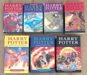 HARRY POTTER Teil 1-7 - Komplett Englisch - J.K. Rowling