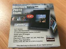 "2.4"" digital photo frame USB"