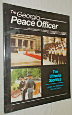 Sept 1996 GEORGIA POLICE OFFICER Magazine, laws, opinions, news,memorial service