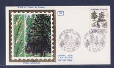 enveloppe 1er jour  nature les arbres   3f  45  Orléans       1985