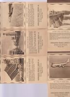 GROUP OF 5 DIFFERENT 1947 CALENDAR/NOTE PADS FROM CONSOLIDATED PRODUCE COMPANY