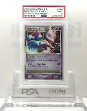 Pokemon Legends Awakened MEWTWO LV X #144/146 Ultra Rare PSA 9 Mint #*