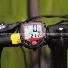 Waterproof LCD Bicycle speed meter Bike Computer Display Odometer Speedometer