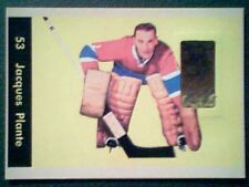 JACQUES PLANTE  AUTHENTIC VINTAGE SEAMED LEATHER PIECE OF GAME-USED GLOVE /90 SP