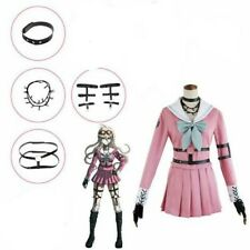 Danganronpa V3: Killing Harmony-Iruma Miu Cosplay Costume Outfit Coat Dress M