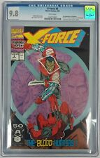 Marvel X-FORCE #2 CGC 9.8 2nd Appearance of Deadpool! Free Shipping!