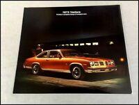 1975 Pontiac Ventura and Sprint Original Sales Brochure Catalog