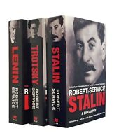 Robert Service Revolution Heroes 3 Book Stalin Trotsky Lenin History Biography