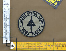 """Ricamata / Embroidered Patch """"USA Delta Force"""" Coy. Tan with VELCRO® brand hook"""