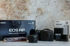 Canon EOS RP Mirrorless Digital Camera with EF Adapter Excellent Condition