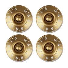 4pcs Volume Tone Control Knobs for Gibson Les Paul LP Guitar Replacement