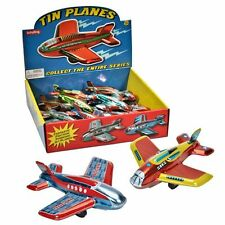 Tin Friction Plane - Fun Traditional Toy
