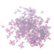 Butterfly Table Confetti Set for Bridal Shower/Wedding Decoration Purple