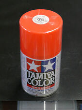 SPRAY TAMIYA N° TS 36 - ROUGE FLUO / FLUORESCENT RED - 100 ml