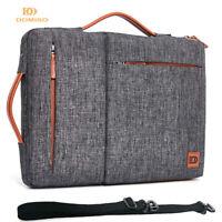 DOMISO Laptop Handbag Case for Macbook 10 13 14 15.6 17 inch Briefcase Notebook