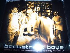 Backstreet Boys Show Me The Meaning Of Being Lonely Aust CD Single – Like New