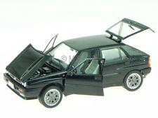 Lancia Delta 2.0i HF Integrale 16V 1990 black modelcar Leo 1:24