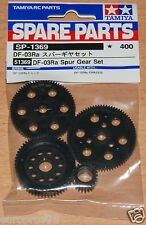 Tamiya 51369 DF-03Ra conjunto de engranajes cilíndricos (DF03Ra/Rally), nuevo en paquete