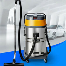 70L Powerful High-power Bucket Wet & Dry Vacuum Cleaner Industrial Car Wash Big