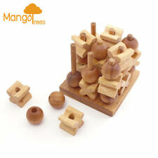 Wooden Strategy Puzzles