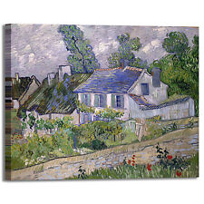 Van Gogh casa ad Anversa design quadro stampa tela dipinto telaio arredo casa