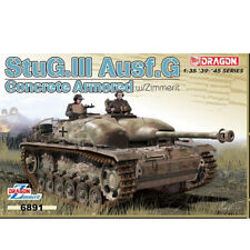 Dragon Plastic Model Kits #6891 StuG.III Ausf.G Concrete Armored w/Zimmerit