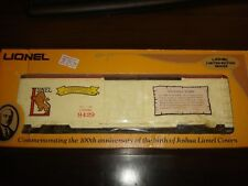 "Lionel O Gauge No. 6-9429 Joshua Lionel Cowen Box Car ""The Early Years"" -Nib"