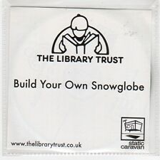 (GE988) The Library Trust, Build Your Own Snowglobe - DJ CD