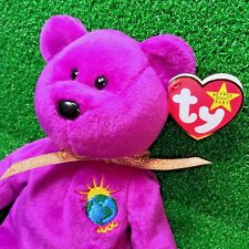 Ty Beanie Baby Millennium The Bear With NO Tag Errors MWMT - Plus Actually Rare