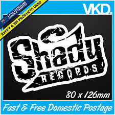Eminem Shady Records Sticker/ Decal - Slim Rap Band Music Vinyl BMX Skateboard