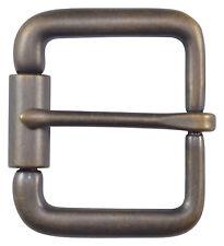 "Antique Brass Roller Belt Buckle for 1 1/2"" Belts - by The Belt Shoppe"