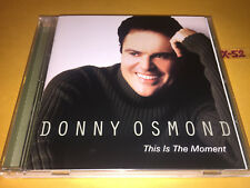 DONNY OSMOND cd THIS IS THE MOMENT hits VANESSA WILLIAMS toy story AIDA rent