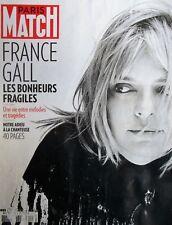 PARIS MATCH / Décès de France GALL (40 pages sur l'artiste !)