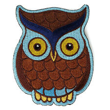Embroidered Cute Owl Kids Sew or Iron on Patch